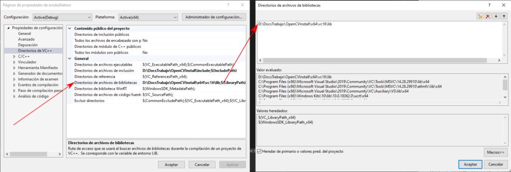 Visual Studio .lib folder